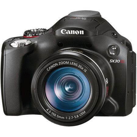 Canon PowerShot SX30 IS, Digital Camera, 14.1 Megapixel, 35x Optical Zoom, Optical Image Stabilizer System image