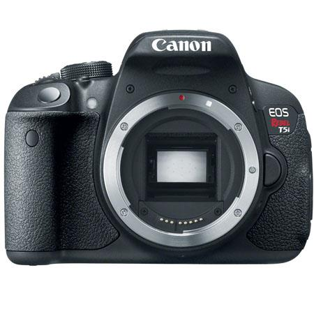 "Canon EOS Rebel T5i DSLR Camera, 18MP, 3.0"" Touchscreen LCD, Full HD 1080 Video, Body Only"