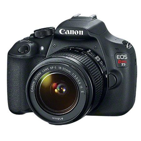Canon EOS Rebel T5 Digital SLR Camera Kit with EF-S 18-55mm f/3.5-5.6 IS II Lens
