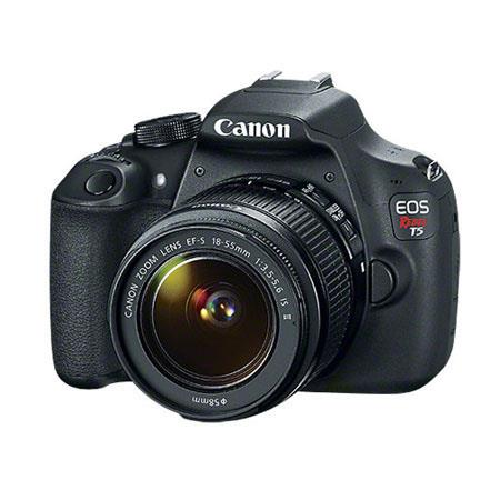 Canon EOS Rebel T5 DSLR Camera with EF-S 18-55mm f/3.5-5.6 IS II Lens - Special Promotional Bundle