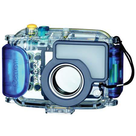 Canon WP-DC24 Waterproof Housing for the PowerShot SD790 IS Digital Camera, Waterproof down to 130'.