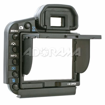 Delkin Professional Pop-up Shade & Protective Cover for Canon EOS 5D Mark II LCD Screen, Snap On image