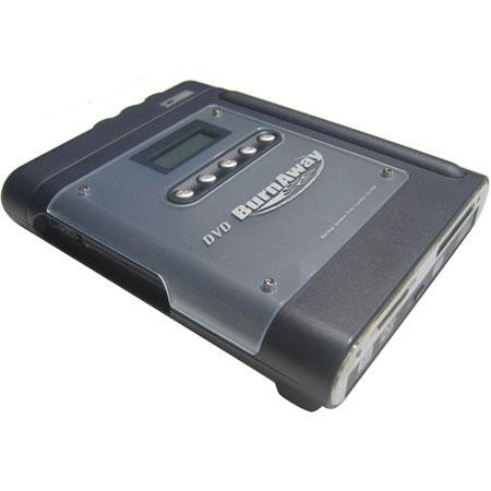 Delkin DVD BurnAway, Portable Combo DVD/CD Writable, Media Player & USB 2.0 Card Reader image