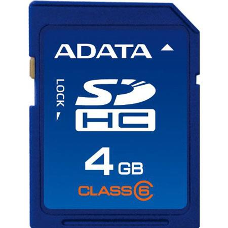 A-Data SD Card 4 GB - SDHC Class 6 image