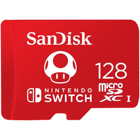 SanDisk 128GB UHS-I microSDXC Memory Card for the Nintendo Switch