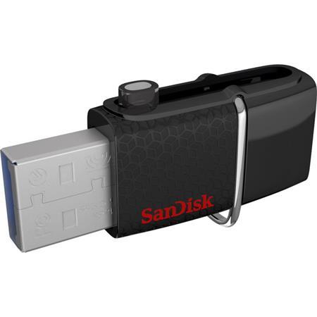 SanDisk 128GB Ultra Dual Micro USB 3.0 and Standard USB 3.0 Micro Flash Drive
