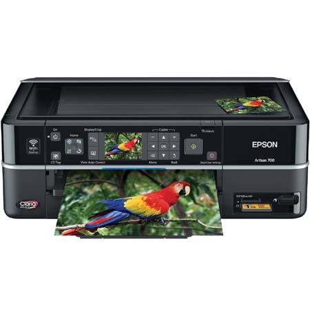 Epson Artisan 700 4-in-1 WiFi Printer with Copy / Scan / Ultra Hi-Def Photo, Up to 38 PPM image