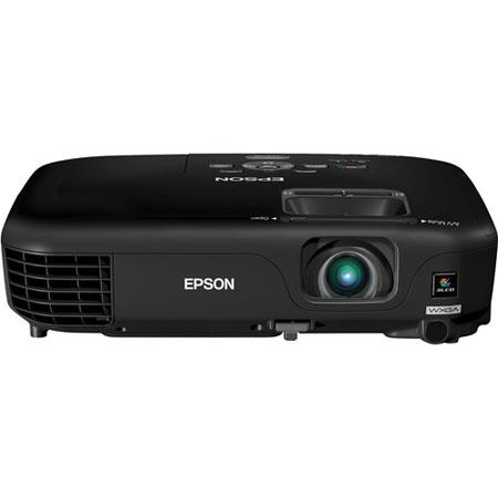 Epson PowerLite 1261W Multimedia Projector, 16:10 Aspect Ratio, 2800 Lumens Light Output, Native Resolution WXGA