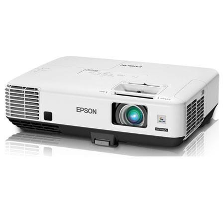 Epson PowerLite 1850W Multimedia Projector, 1280x800 WXGA Resolution, 3700 Lumens, Up to 2500:1 Contrast Ratio