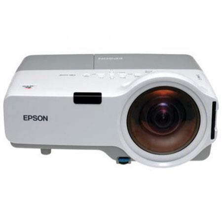 Epson PowerLite 400W Multimedia Projector with 1800 ANSI Lumens & WXGA Native Resolution, 16:10 Aspect Ratio, 500:1 Contrast Ratio