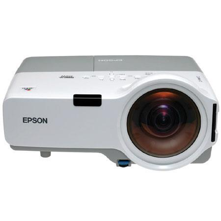 "Epson PowerLite 410W Multimedia Projector, 2000 Lumens, Native WXGA (1280x800) -""Refurbished by Epson"""