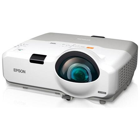 Epson PowerLite 425W Multimedia Projector, 1280x800 WXGA Resolution, 2500 Lumens, Up to 3000:1 Contrast Ratio