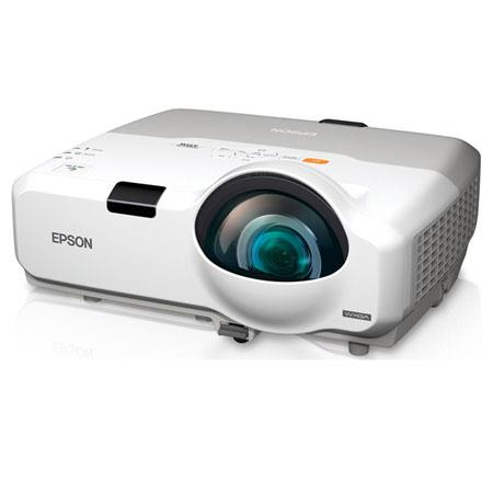 Epson PowerLite 435W Multimedia Projector, 3000 Lumens, 1280x800 WXGA Resolution, Up to 3000:1 Contrast Ratio