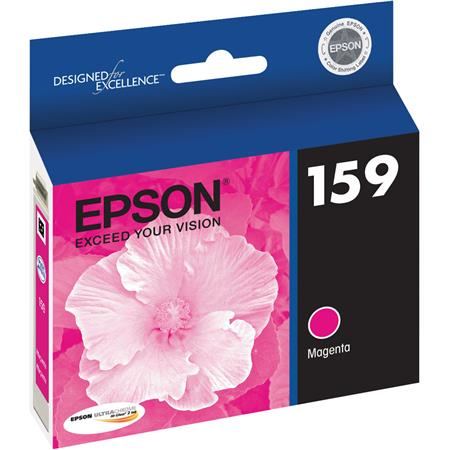 Epson T159320 UltraChrome Hi-Gloss 2 Photo Magenta Ink Cartridge for Epson Stylus Photo R2000 Ink Jet Printer