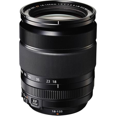 Fujifilm XF 18-135mm F3.5-5.6 R LM OIS WR (Weather Resistant) Lens (35mm format equivalent: 27-206mm)