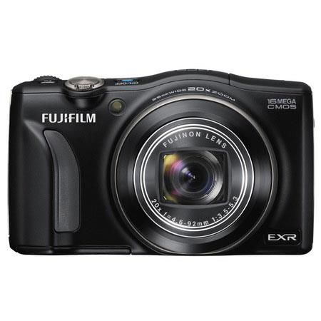 "Fujifilm FinePix F770EXR 16MP Digital Camera, 1/2"" EXR-CMOS Sensor, 20x Optical Zoom Lens, 3.0"" TFT LCD Display, 1080p Full HD Movie Recording, Black"