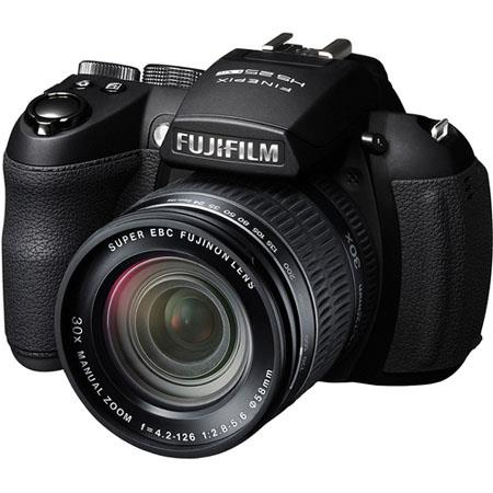 "Fujifilm FinePix HS25EXR 16MP Digital Camera, 30x Optical Zoom, 3"" LCD Monitor, 1080p Full HD Movie Recording, Black"