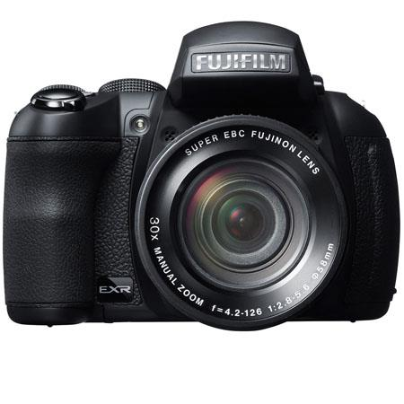 "Fujifilm FinePix HS30EXR 16MP Digital Camera, 30x Optical Zoom, 3"" LCD Display, 1080p Full HD Movies Recording, Face Tracking Auto Focus, Black"
