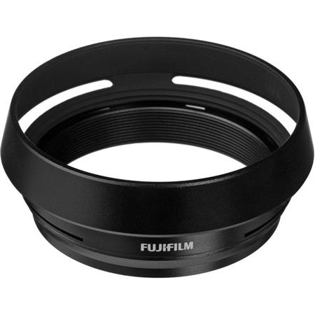 Fujifilm LH-x100 Black Lens Hood and 49mm Thread Adapter for Finepix X100 & HS20