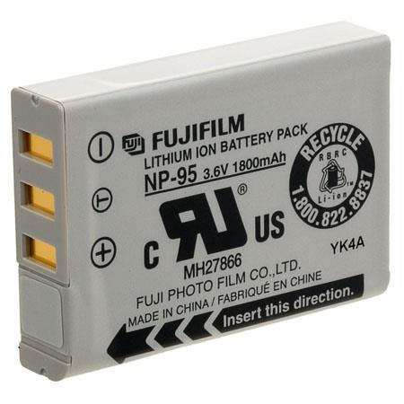 Fujifilm NP-95 Lithium-Ion Rechargeable Battery for X100, F30, F31 Digital Camera