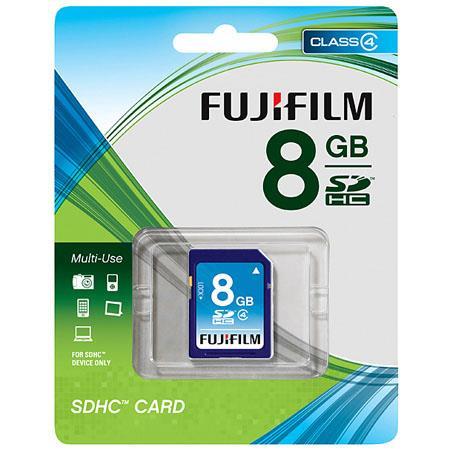 Fujifilm 8GB Class 4 SDHC Memory Card