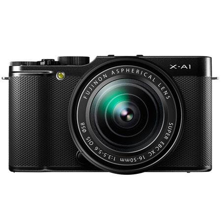 "Discount Electronics On Sale Fujifilm X-A1 Mirrorless Digital Camera with 16-50mm Lens, 16.3MP, 3"" 920k-Dot Tilting LCD Monitor, Full HD 1080p Video, USB 2.0, HDMI, Black"