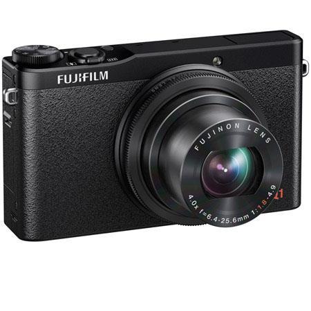 Fujifilm XQ1 Digital Camera, 12MP, 4x Optical Zoom, 3