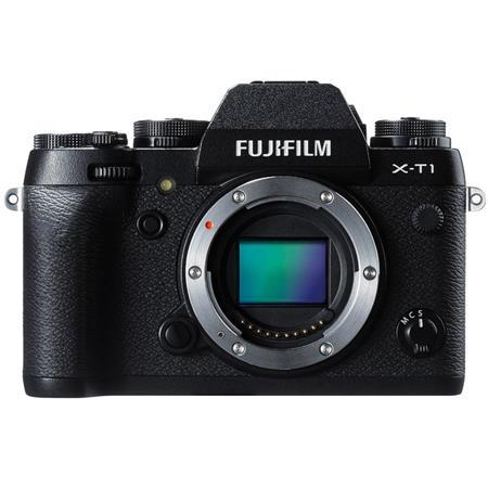 Fujifilm X-T1 Mirrorless Digital Camera Body, 16.3MP, Full HD 1080p Video at 60 fps, 3