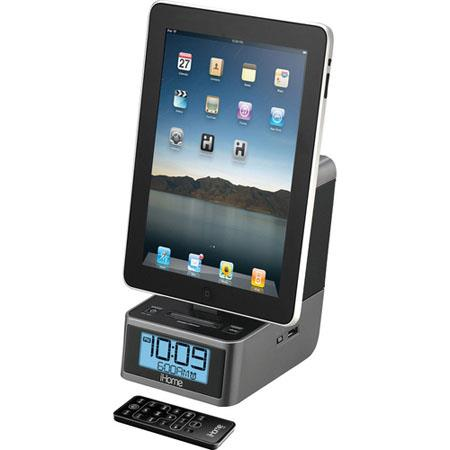iHome iD37 Dual Alarm Clock Radio for iPad/iPhone/iPod