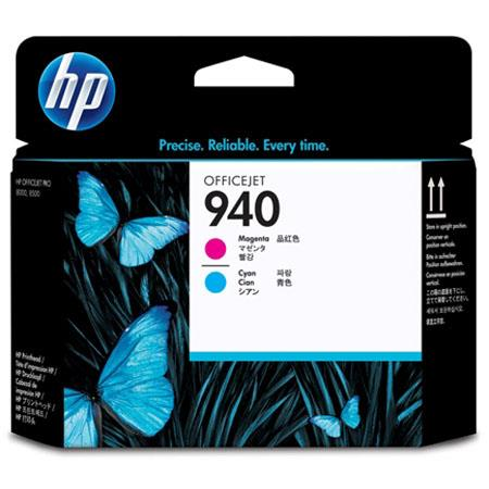 HP 940 Magenta and Cyan Officejet Printhead for 940 Officejet Ink Cartridge