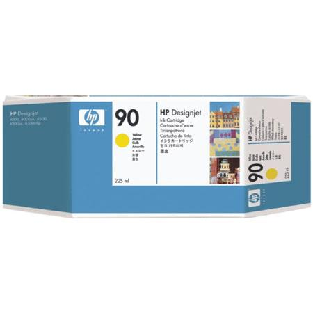 HP 90 225-ml Yellow Print Cartridge