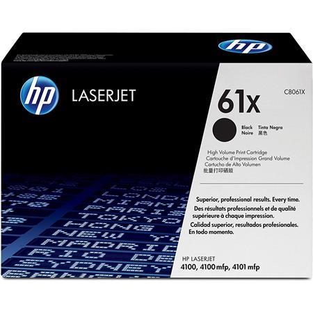 Hewlett Packard - HP C8061X Black Print Cartridge for Select HP Laserjet Printers (Yield: Appx 10,000 Copies) image