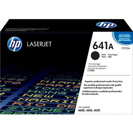 HP C9720A Black Print Cartridge for Select HP Color Laserjet Printers (Yield: Appx 9,000 Copies)