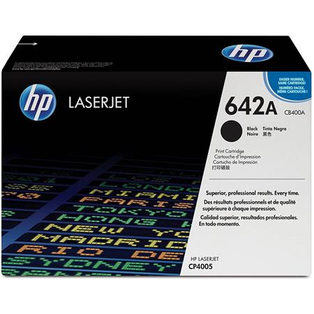 HP CB400A Color LaserJet Black Print Cartridge for HP Color LaserJet CP4005 Printer series (Yield: Apex. 7,500 Copies)