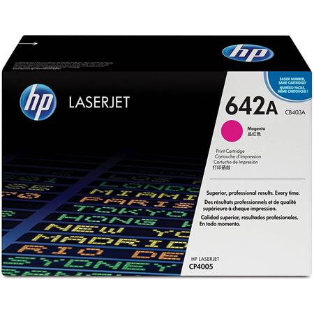 HP CB403A Color LaserJet Magenta Print Cartridge for HP Color LaserJet CP4005 Printer series (Yield: Apex. 7,500 Copies)