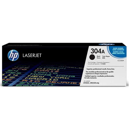 HP Black Print Cartridge for the Color LaserJet CP2025 & HP Color LaserJet CM2320 MFP Printers.