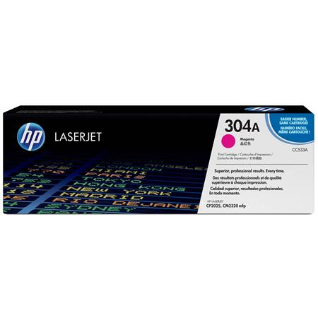 HP Magenta Print Cartridge for the Color LaserJet CP2025 & HP Color LaserJet CM2320 MFP Printers, Yield: 2800 Pages