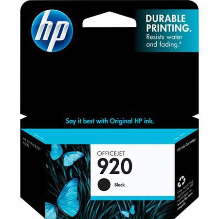 HP 920 Black Officejet Ink Cartridge, Yield: 420 Pages