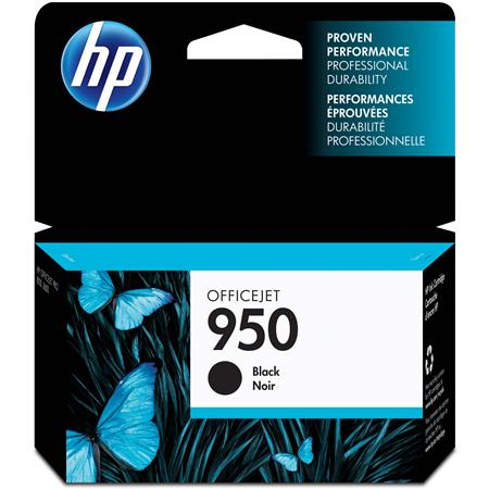 HP 950 Officejet Ink Cartridge, Black