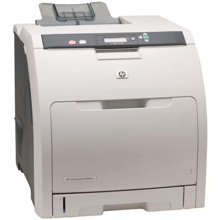 Hewlett Packard - HP Color LaserJet CP3505n Printer, 22ppm, USB Interface for Windows and Mac image
