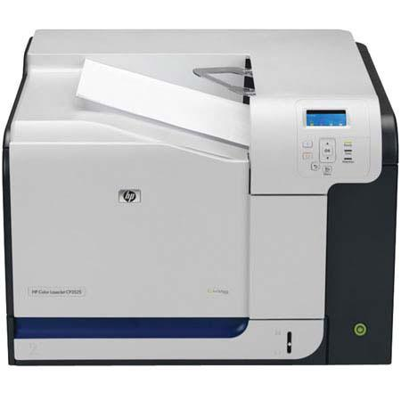 Hewlett Packard - HP Color LaserJet CP3525DN Printer with Duplex/Network Printing, 350-Sheet Input Tray image