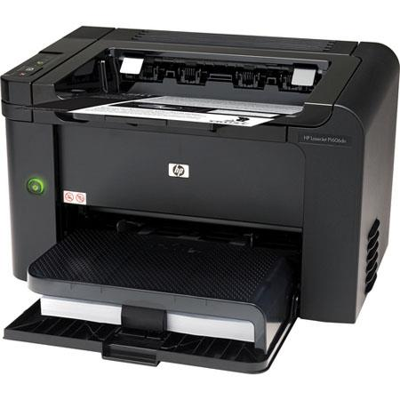 Hewlett Packard - HP LaserJet Pro P1606dN Monochrome Business Printer with 600 x 600 x 2 dpi Print Quality, up to 26ppm Print Speed image