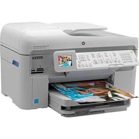 Hewlett Packard - HP Photosmart C309A Premium All-in-One Inkjet Printer, Fax, Scanner, Copier with 9600 x 2400 dpi Resolution, USB 2.0 Interface image