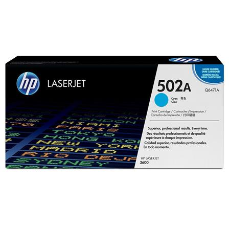 Hewlett Packard - HP Cyan Print Cartridge with HP ColorSphere Toner for Select HP Color Laserjet Printers (Yield: Appx 4000 Copies) image