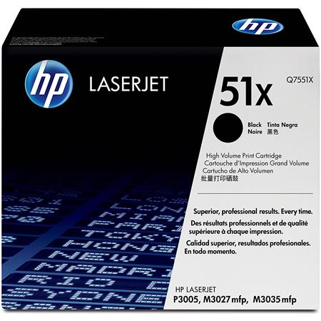 HP High Yield Black Print Cartridge for Select HP Color Laserjet Printers (Yield: Appx 13,000 Copies)