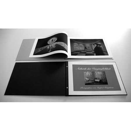 Hahnemuhle Inkjet Photo Album Refill Packs with 2 Sets of A4 20-Sheets Natural Art Duo 256gsm & 2 Sets of 22 Sheets Interleave Paper & Studs