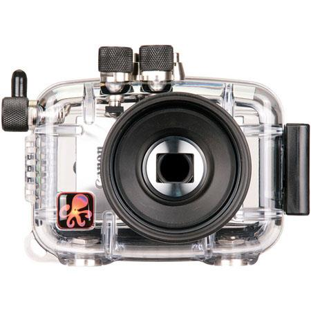 Ikelite 6243.52 Underwater Camera Housing for Canon Powershot Elph 520 HS, IXUS 500 HS Digital Cameras
