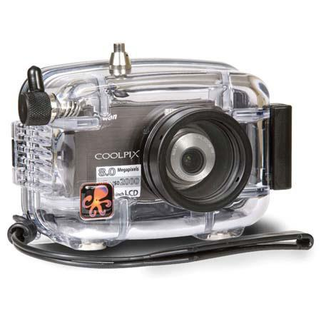 Ikelite Underwater Camera Housing for Nikon Coolpix S520 Digital Camera image