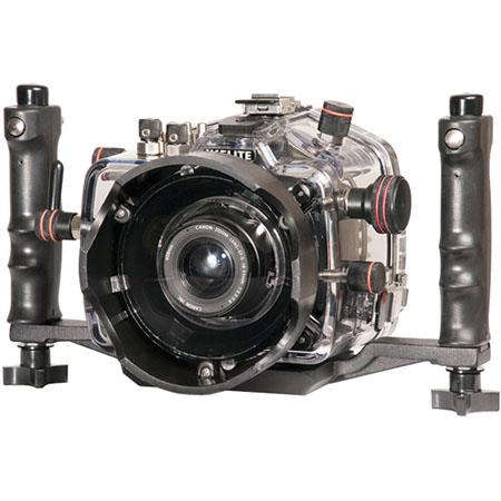 Ikelite Underwater Camera Housing with E-TTL for the Canon Digital EOS 7D Camera, Clear Molded