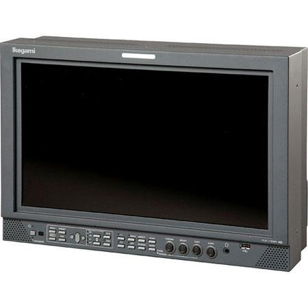 "Ikegami 17"" Full HD HDTV/SDTV Multi-Format LCD Color Monitor, 1000:1 Contrast Ratio, 650cd/m2 Brightness"